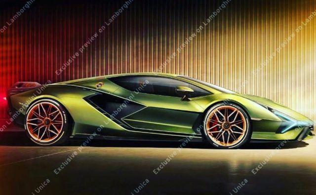 Lamborghini Sian Leaked