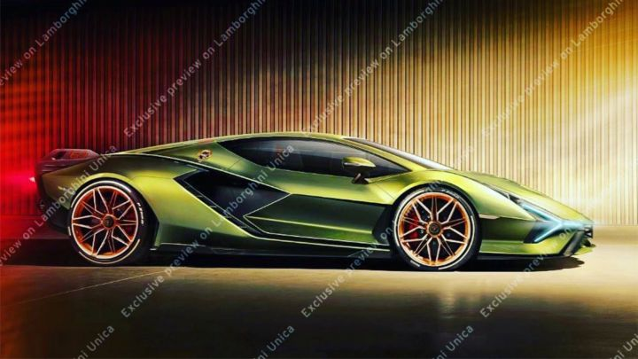 Lamborghini Sian Leaked; Hybrid Hypercar With 800PS Of Power