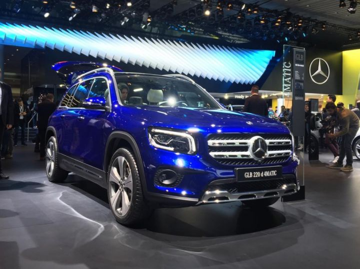 2020 Mercedes – Benz GLB SUV Release Date And Plug-In Hybrid Specs >> 2020 Mercedes Benz Glb 7 Seater Compact Suv Revealed Zigwheels