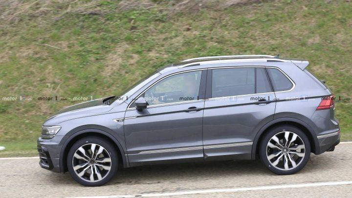 2020 VW Tiguan: Design, Specs, Price >> 2020 Volkswagen Tiguan Facelift Spied Zigwheels