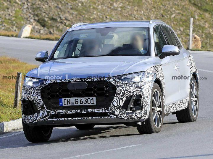 2021 Audi Q5 Facelift Spied - ZigWheels