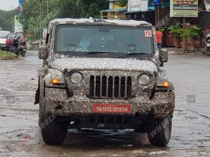 2020 Mahindra Thar Spied Testing Ahead Of Reveal - ZigWheels