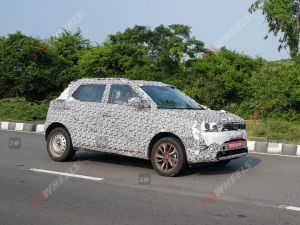 More Powerful Mahindra XUV300 Spied Testing