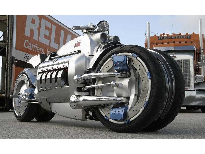 Crazy Bikes From The Past Dodge Tomahawk Zigwheels