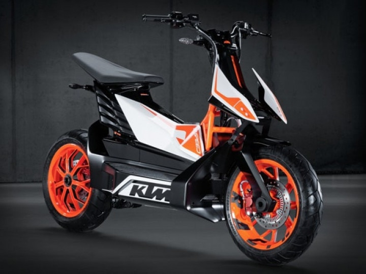 KTM Electric Scooter Details