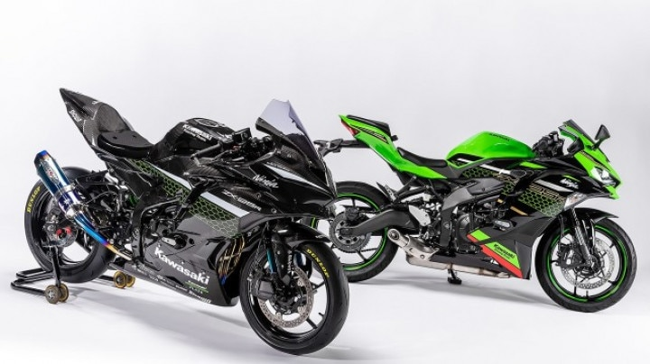 Kawasaki Ninja ZX-25R Race-spec Bike Unveiled