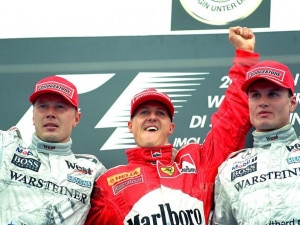 Schumacher 2000: Beating the Silver Arrows In A Straight Fight