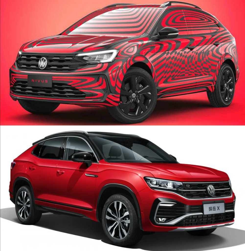Volkswagen Unveils Tayron X And Nivus SUV Coupes