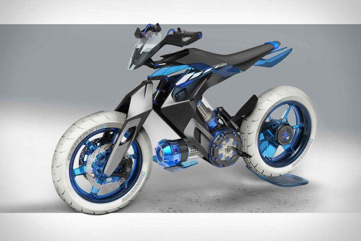 Yamaha Water Powered Bike