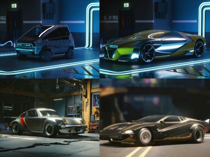 The Best Looking Rides From Cyberpunk 2077 Zigwheels