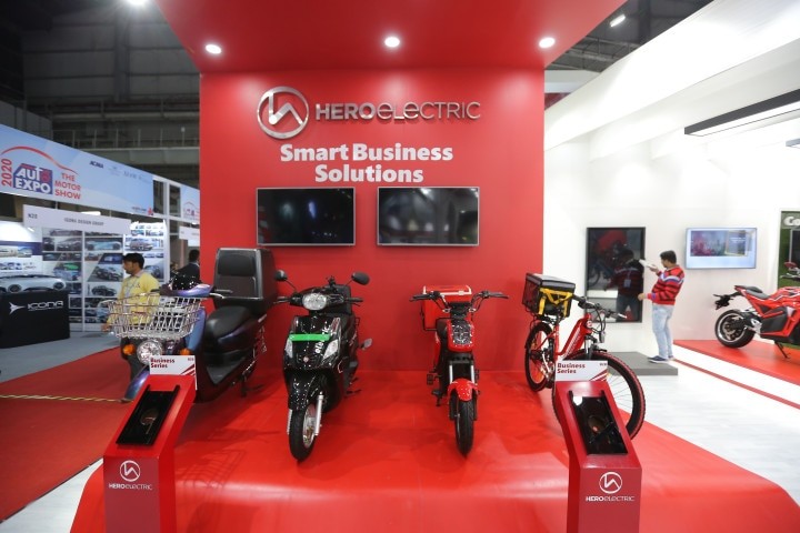 Hero Electric Stall