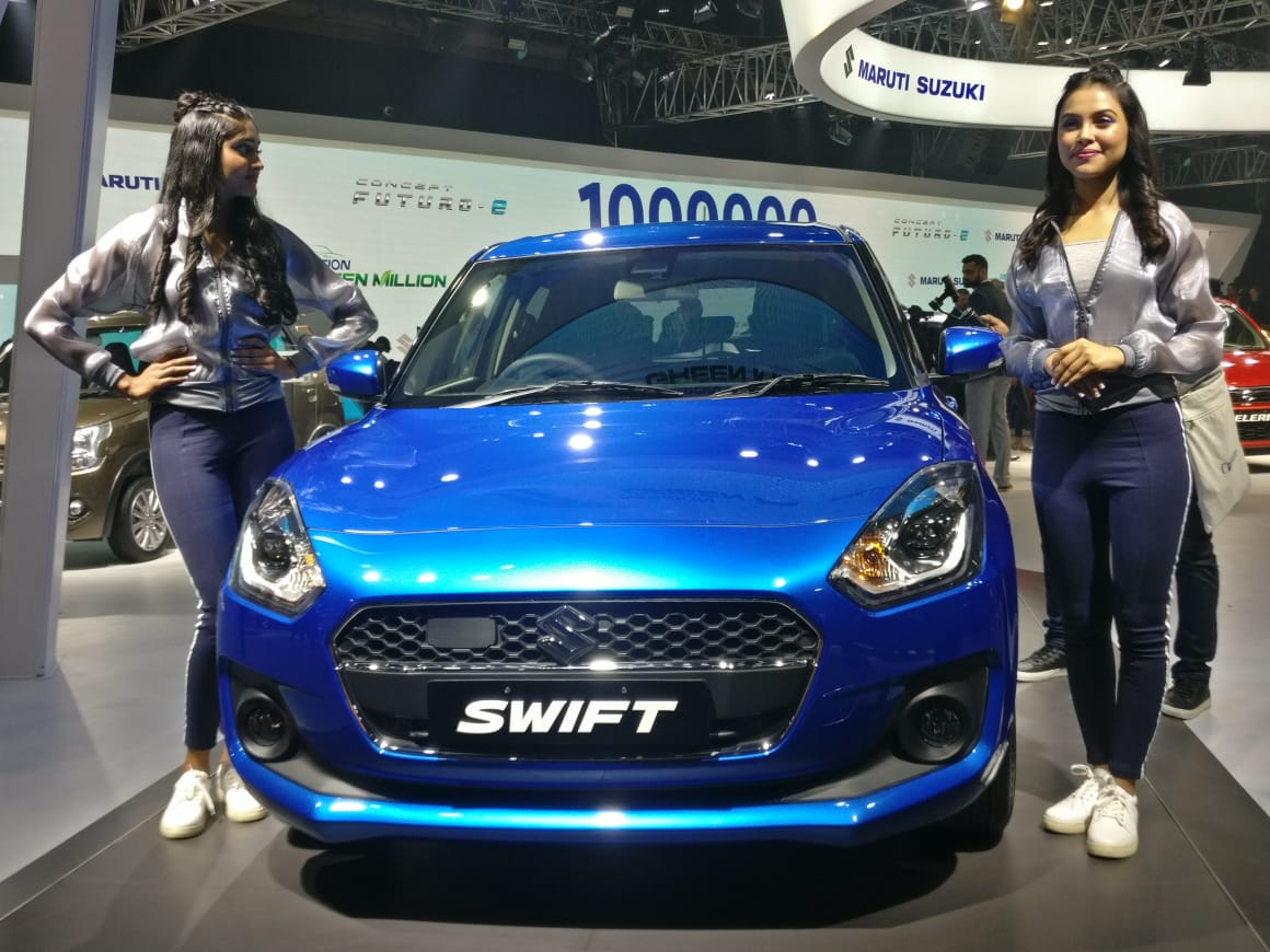 Maruti Suzuki Swift Hybrid With 48v System Showcased At