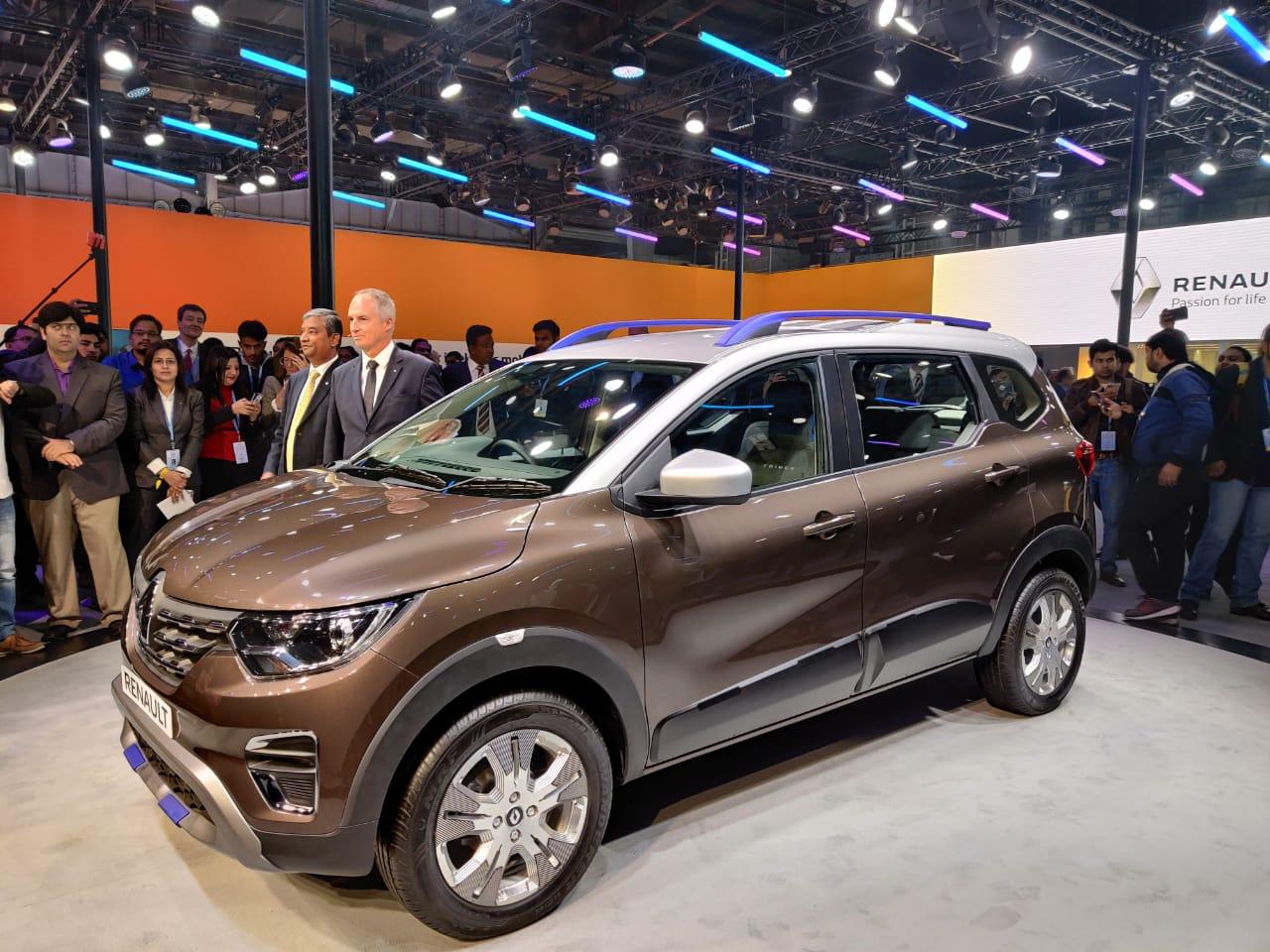 Renault At Auto Expo 2020 Triber Amt Variant Revealed In India To Rival Maruti Suzuki Ertiga Zigwheels