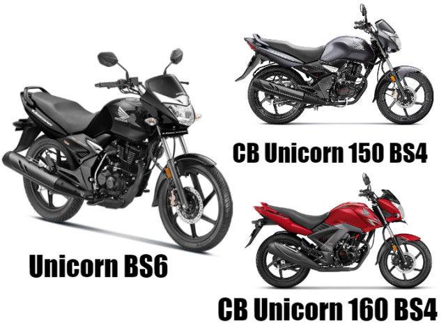 Honda Unicorn Bs6 V Honda Cb Unicorn Bs4 V Honda Cb Unicorn 160
