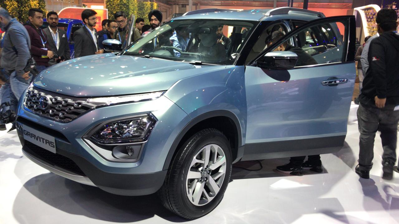 Tata Motors At Auto Expo 2020 Gravitas 7 Seater Suv Unveiled In India Zigwheels