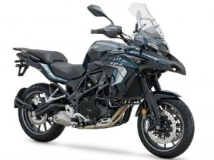 Updated Benelli TRK 502 Spotted