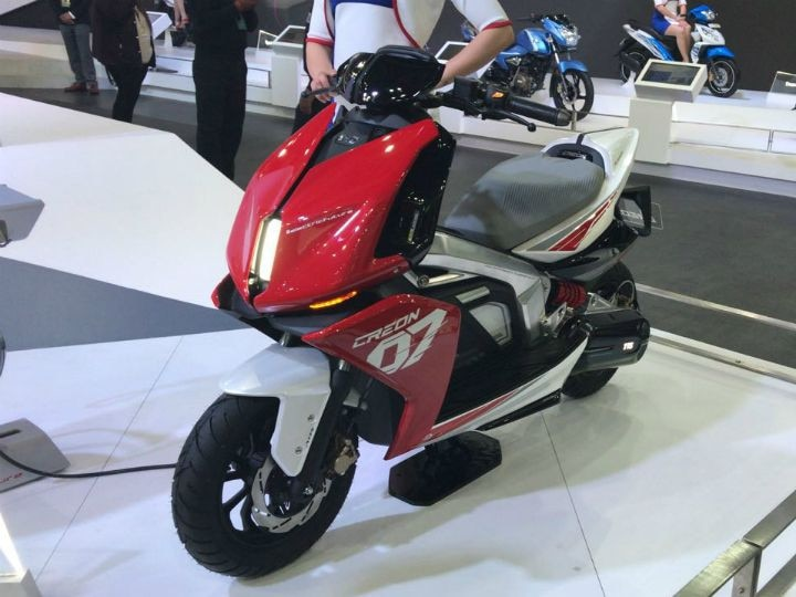 TVS Electric Scooter Launching Tomorrow