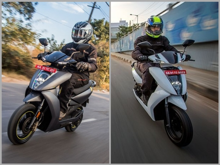 Ather 450 differences