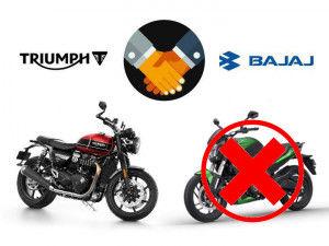 No New Bajaj Motorcycles To Come Out Of Bajaj-Triumph Platform
