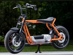 Harley-Davidson Electric Scooter Design Drawings Leaked