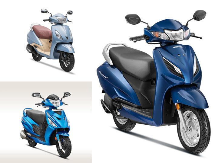 Honda Activa 6G Vs TVS Jupiter Vs Hero Maestro Edge: Spec Comparison