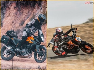 Family Feud: KTM 390 Duke vs 390 Adventure