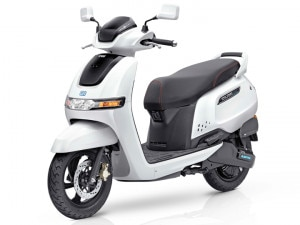 TVS Steps Into The Indian Electric Scooter Segment With The All-New iQube