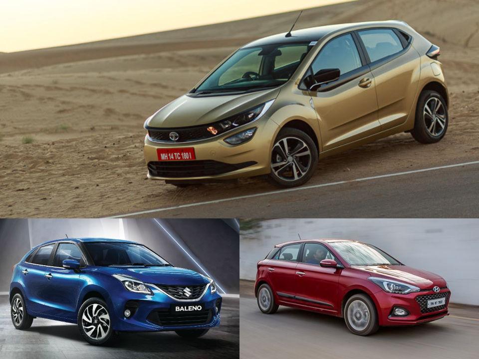 Tata Altroz Spec Comparo: Maruti Suzuki Baleno And Hyundai Elite ...