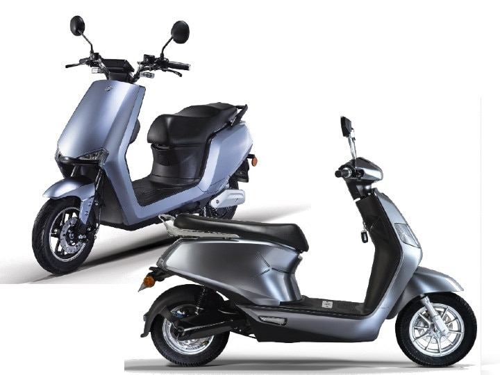 BGAUSS A2 and B8 electric scooters