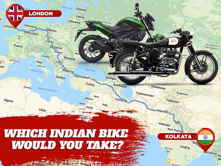 London to Calcutta on Bike