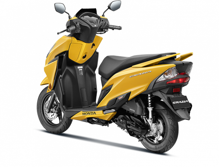 Honda Grazia 125 BS6 automatic scooter launched