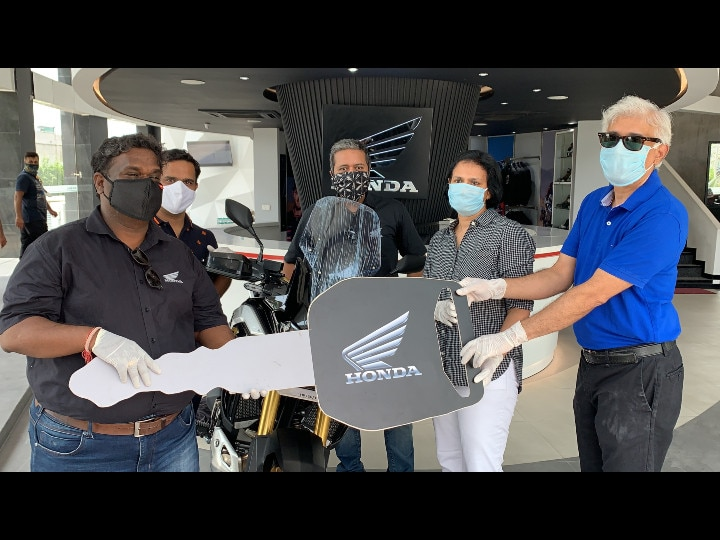 Honda Africa Twin Deliveries Commence