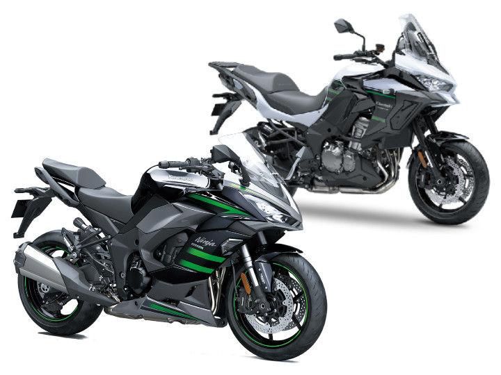 Kawasaki Ninja 1000SX Vs Kawasaki Versys 1000