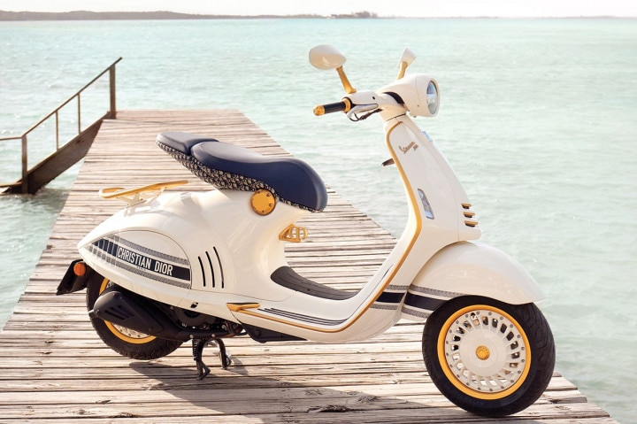 Vespa 946 Christian Dior Edition Scooter Unveiled