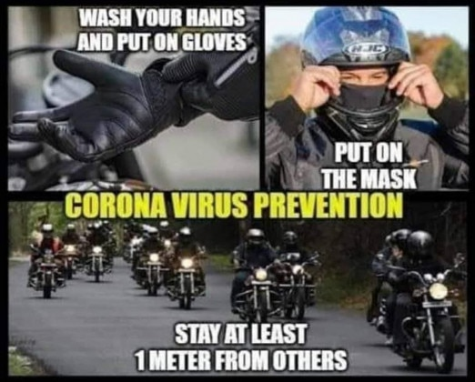 Coronavirus Motorcycle Memes For Bikers In Quarantine - ZigWheels