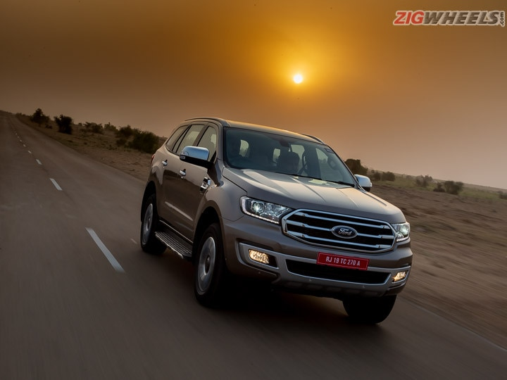 2020 Ford Endeavour First Drive