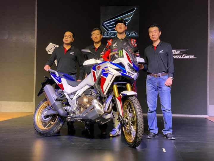 2020 Honda CRF1100L Africa Twin BS6 Adventure Bike Launched In India
