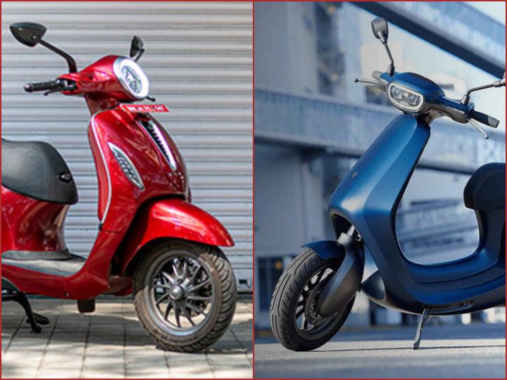 Ola AppScooter vs Bajaj Chetak