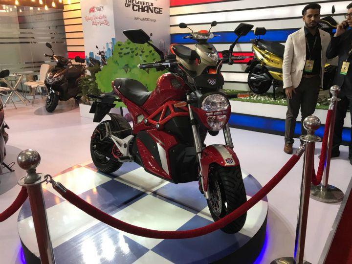 Okinawa Oki100 Electric Motorcycle