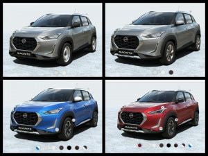 Nissan Magnite Detailed Pictures Of All Variants