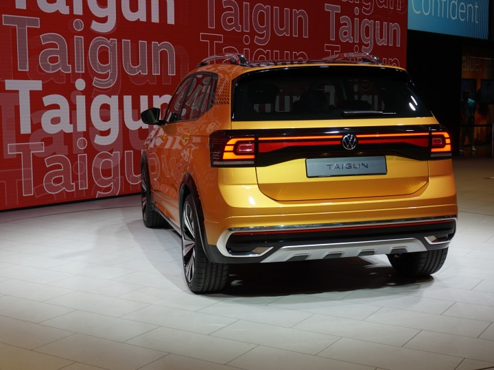 2021 volkswagen taigun listed on website; will be the