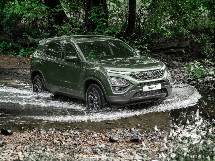 Tata Harrier 2020 Camo Edition SUV Launched At Rs 1650 Lakh