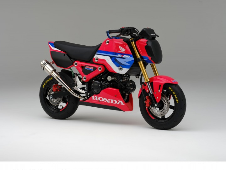 Honda Grom Race Bike Unveiled