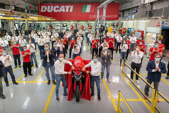 Ducati Multistrada V4 Gets Radar Technology
