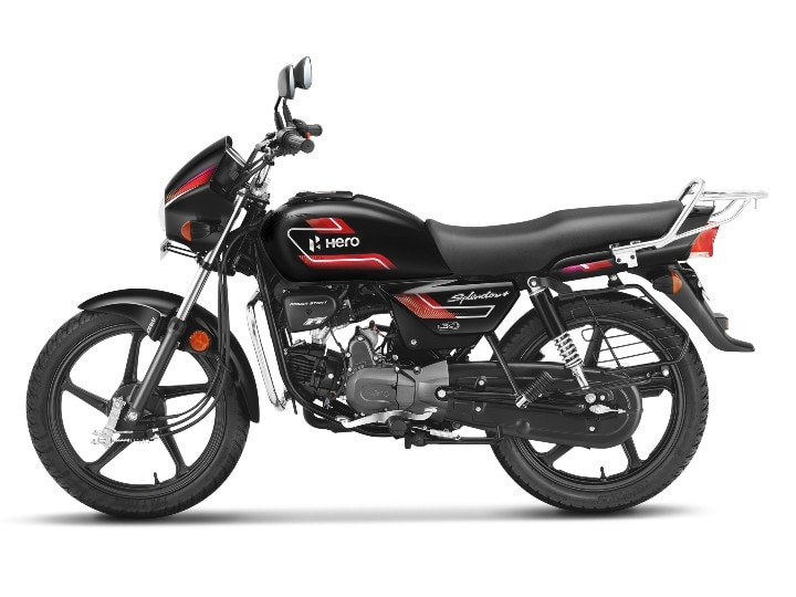 Hero Splendor + Gets A New Black And Accent Edition Variant