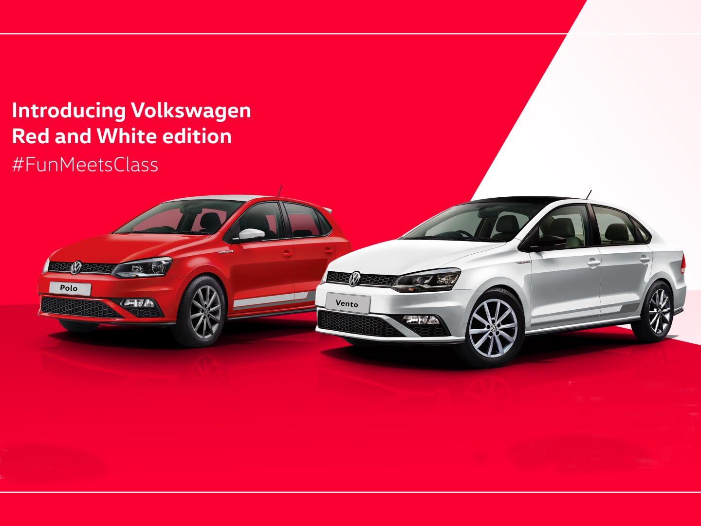 Volkswagen Polo Vento Red And White Editions Launched In India At Rs 9 19 Lakh And Rs 11 49 Lakh Respectively Zigwheels