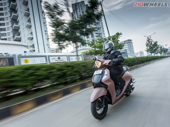 Yamaha Fascino Road Test Review Image Gallery