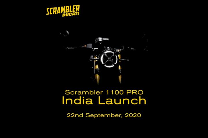 Ducati Scrambler 1100 BS6 India Launch