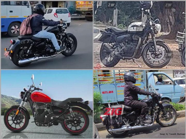RE spied bikes analysis