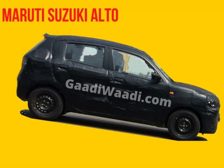 Maruti Suzuki Alto 2021 Spotted Testing For The First Time Zigwheels